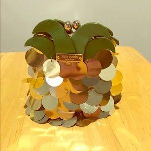 Kate Spade pineapple clutch